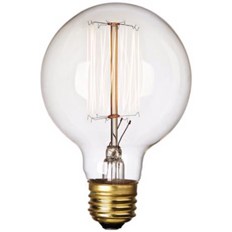 60 watt g25 edison style bulb 5y816 lamps plus. Black Bedroom Furniture Sets. Home Design Ideas
