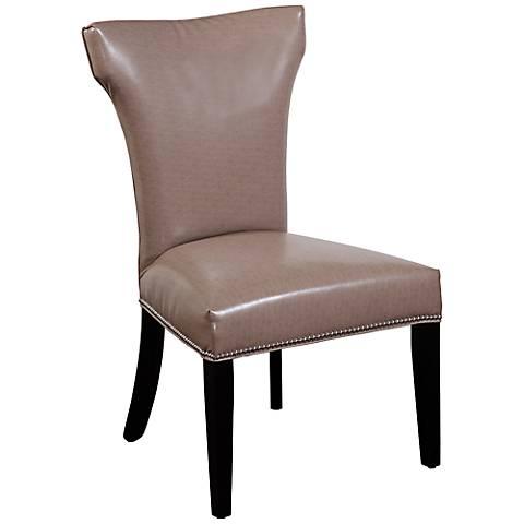 Nelson Deep Khaki Shaped Parsons Chair