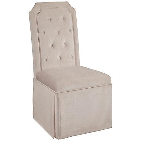 Aramis Beach Cream Linen Parsons Chair