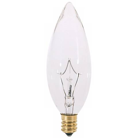 25 Watt Candelabra Torpedo Light Bulb