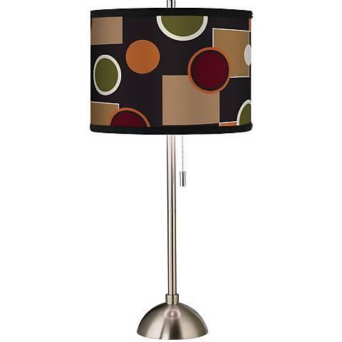 Giclee Retro Medley Table Lamp