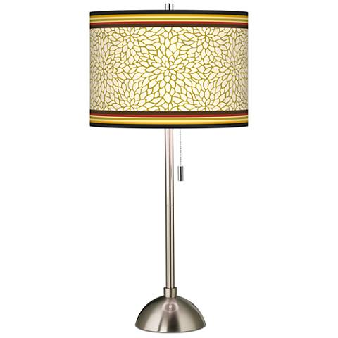 Stacy Garcia Spice Dahlia Giclee Table Lamp