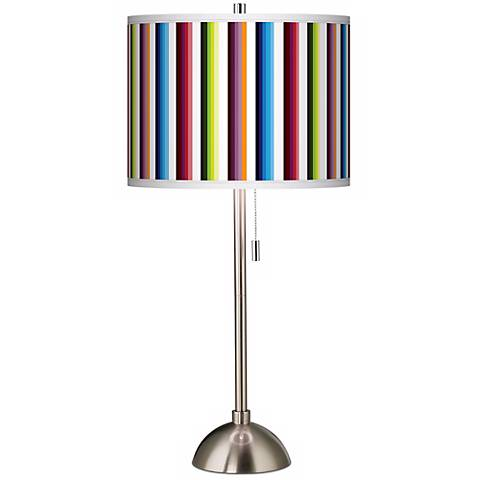 Technocolors Giclee Shade Table Lamp