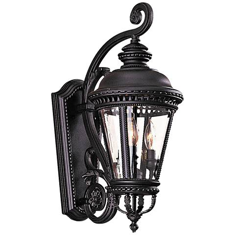 """Castle Collection 22 1/2"""" High Outdoor Wall Light by Feiss"""