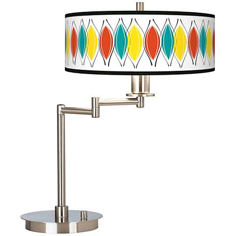 Harmonium Giclee CFL Swing Arm Desk Lamp
