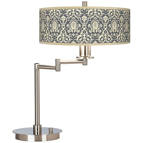 Seedling by thomaspaul Damask Swing Arm Desk Lamp
