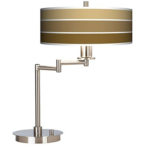 Tones Of Chestnut Giclee CFL Swing Arm Desk Lamp