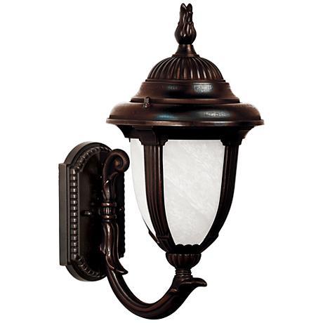 "Casa Sorrento™ 14 3/4"" High Bronze Outdoor Wall Light"
