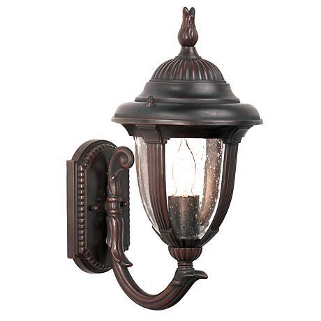 """Casa Sierra™ Collection Bronze 14 3/4"""" High Wall Light"""