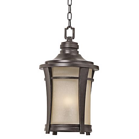 """Harmony 20 1/2"""" High Imperial Bronze Outdoor Hanging Light"""