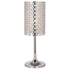 Glitz Crystal and Chrome Table Lamp