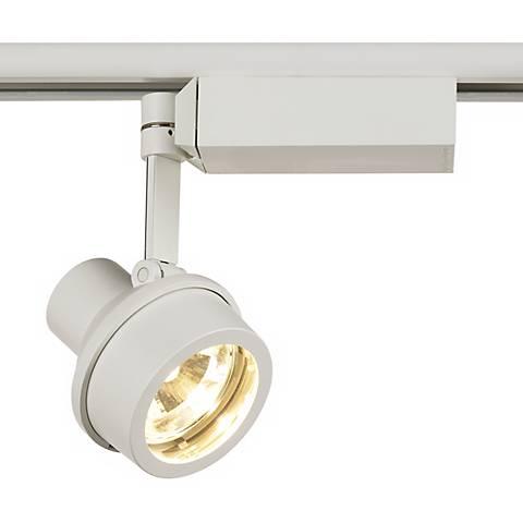 lightolier step spot white mr 16 track light head 62724 lamps plus. Black Bedroom Furniture Sets. Home Design Ideas