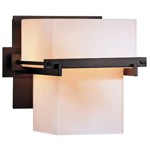 "Hubbardton Forge Kakomi Collection 6"" High Wall Sconce"