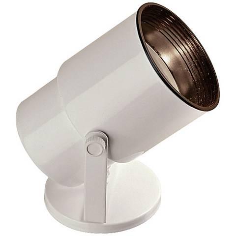 Gloss White Adjustable LED Accent Uplight