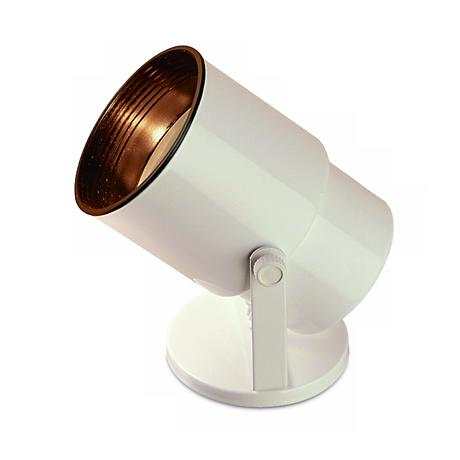 """Gloss White 8"""" High Adjustable Accent Uplight"""