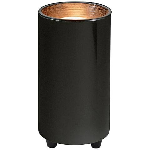 Black Finish Mini Can Accent Light with LED Bulb