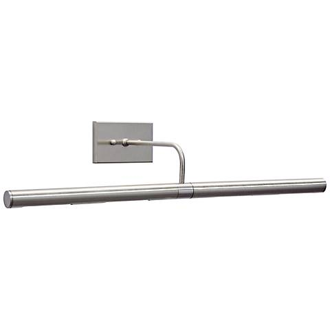 """House of Troy 24"""" Wide Direct Wire Nickel Picture Light"""