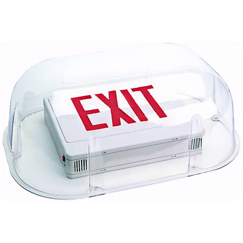 Shield for Exit Signs