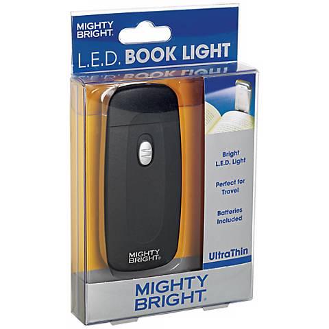 Mighty Bright Ultrathin LED Black Book Light