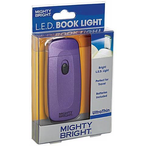 Mighty Bright Ultrathin LED Purple Book Light