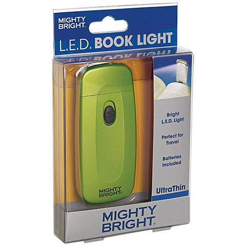 Mighty Bright Ultrathin LED Green Book Light