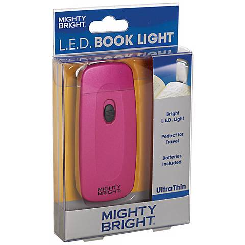 Mighty Bright Ultrathin LED Pink Book Light
