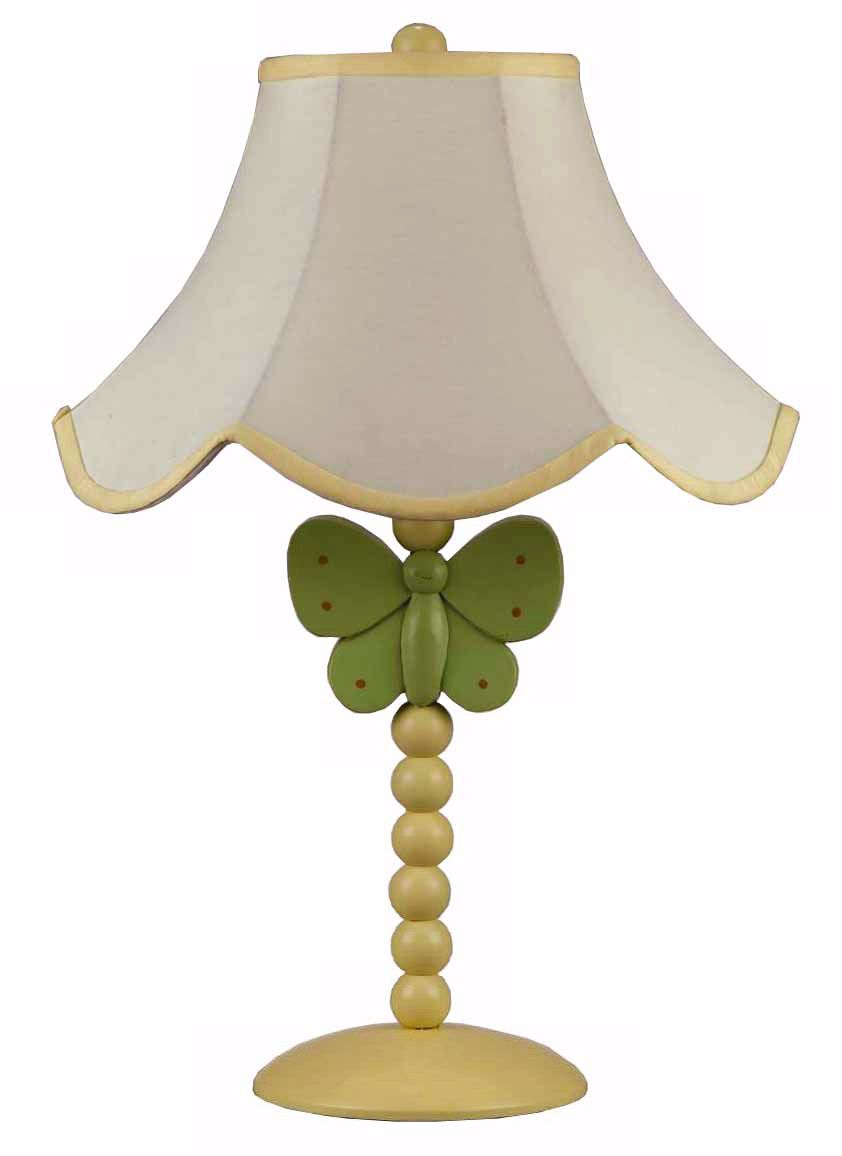 Perfect Green Butterfly Table Lamp