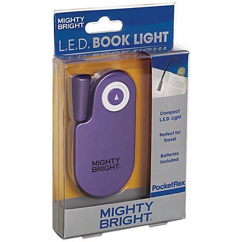 Mighty Bright Pocketflex LED Purple Book Light