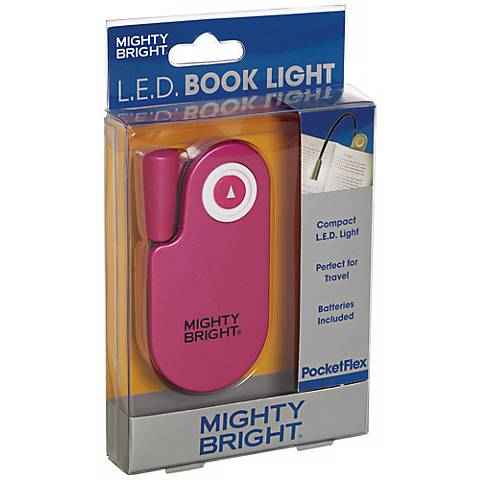 Mighty Bright Pocketflex LED Pink Book Light