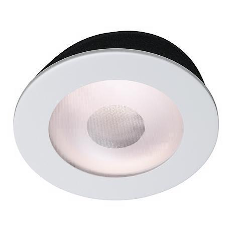 """Juno 5"""" Line Voltage Frosted Lens Shower Recessed Light Trim"""