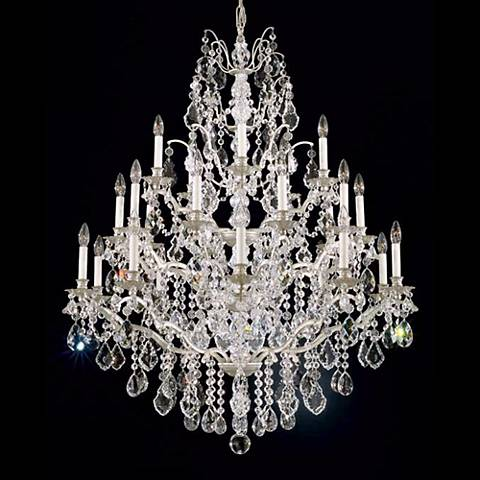Schonbek Bordeaux Collection 25 Light Crystal Chandelier