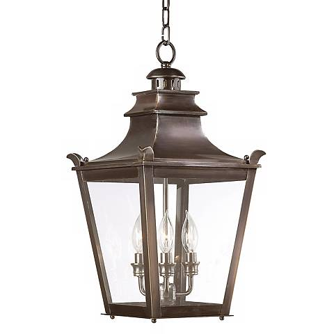 "Dorchester Collection 21"" High Outdoor Hanging Light"