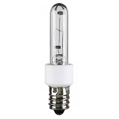60 watt krypton xenon clear candelabra light bulb 68498 lamps plus. Black Bedroom Furniture Sets. Home Design Ideas