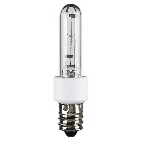 60 watt krypton xenon clear candelabra light bulb 68498. Black Bedroom Furniture Sets. Home Design Ideas