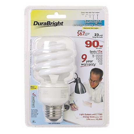 Dura Bright 23 Watt Energy Saving CFL Light Bulb
