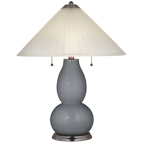 Software Fulton Table Lamp with Fluted Glass Shade