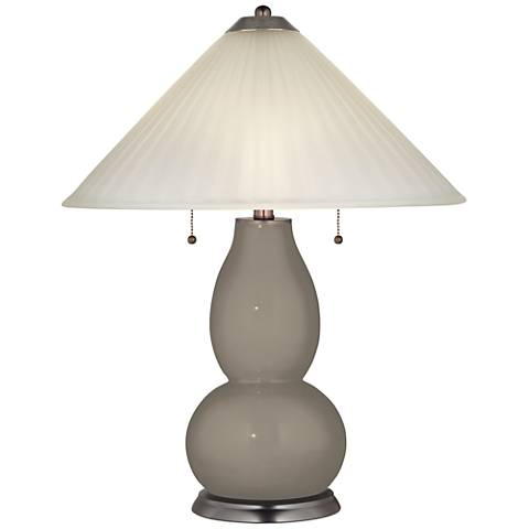 Backdrop Fulton Table Lamp with Fluted Glass Shade