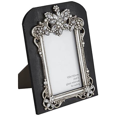 Les Puces Jeweled 4x6 Photo Frame