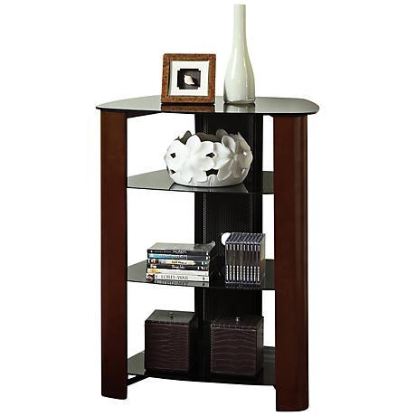 Regal Espresso 4-Tier Component Stand