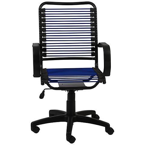Bradley Blue Bungie Black Graphite Office Chair