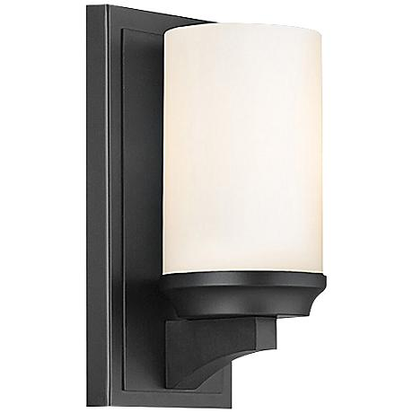 """Feiss Amalia 9 1/2"""" High Bronze Wall Sconce"""