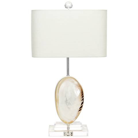 Couture Oceanside Mother of Pearl Table Lamp