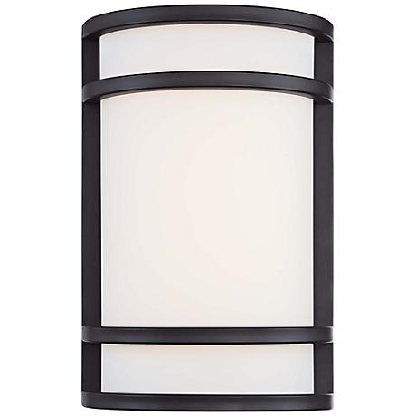 "Bay View 12"" High Oil-Rubbed Bronze Outdoor Wall Light"