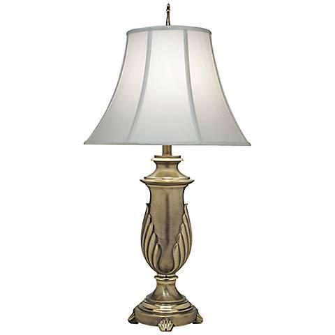 Stiffel Off-White Shade Florentine Table Lamp