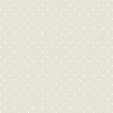 York Sure Strip Gray Small Diamond Pre-Pasted Wallpaper