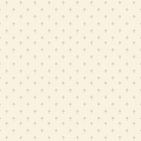 York Sure Strip Cream Ditsy Fleur-de-Lis Wallpaper