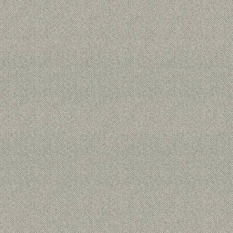 York Sure Strip Gray Herringbone Pre-Pasted Wallpaper
