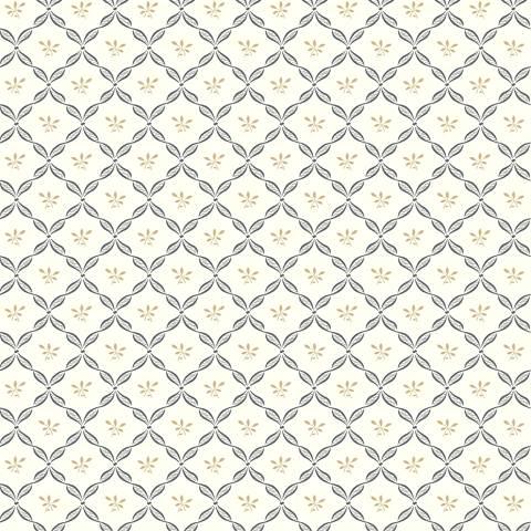 York Sure Strip Gray Ribbon Harlequin Wallpaper