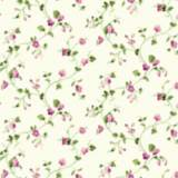 York Sure Strip Pink Waverly Sweet Violets Trail Wallpaper