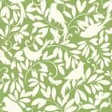 York Sure Strip Green Waverly Birdsong Removable Wallpaper